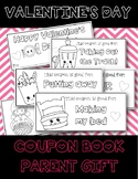**Parent Valentine's Day Gift Coupon Book