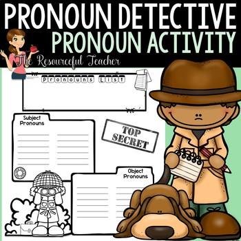 Pronoun Detective - Pronoun Activity
