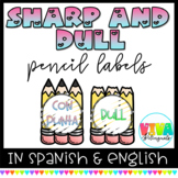 SHARP AND DULL in dual language