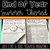 *Summer Magazine for Upper Grades