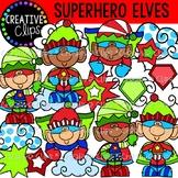 {FLASH FREEBIE} Superhero Elves {Christmas Clipart}
