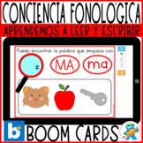 Distance Learning Boom Cards Working M, P, L, S Spanish Ph