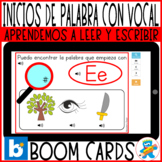 Distance Learning Boom Cards Working Vowels in Spanish. Ph