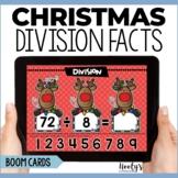 Christmas Division Fluency Digital Task Cards