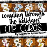 *FLASH SALE* Counting Through The Holidays - Clip Cards Bundle
