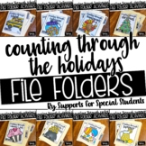 *FLASH SALE* Counting Through The Holidays - File Folder Bundle