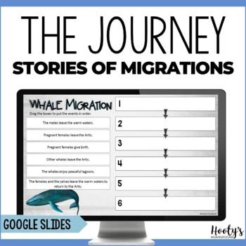 Digital Activities for The Journey: Stories of Migration