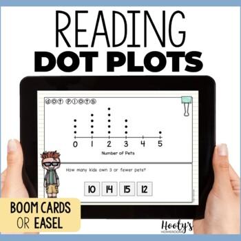 Dot Plots Digital Task Cards