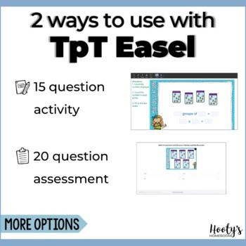 Equal Groups Multiplication - Digital Task Cards