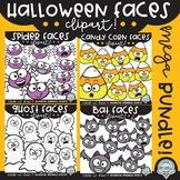 Halloween Faces MEGA Bundle {halloween clipart}