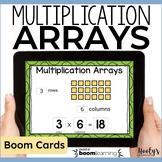 Multiplication Arrays Digital Task Cards for Boom Learning