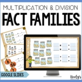 Multiplication and Division Fact Families Digital Activiti
