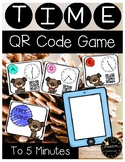Telling Time to the 5 Minutes - QR Code Game or Scoot