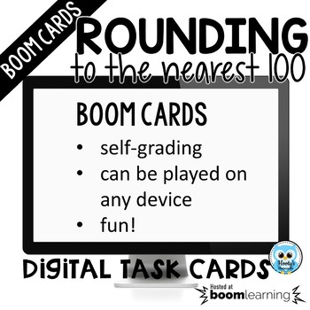 Round to 100 Digital Task Cards