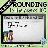 Rounding to the Nearest 100 Boom Cards