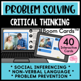 Social Inferencing and Problem Solving with Flexible Thinking Speech Boom Cards™
