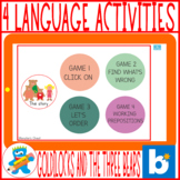*FLASH SALE* Spanish Speech Therapy Boom Cards Cuento Rici