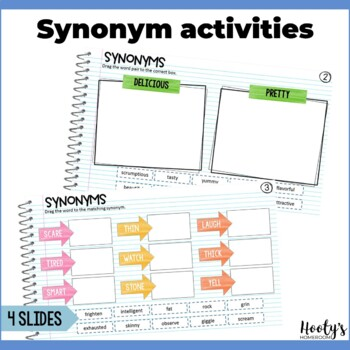 Synonym and Antonym Paperless Practice Using Google Apps
