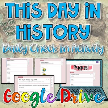 This Day in History Bell Ringer Activity {Digital}