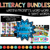 WRITING PROMPTS | COLOR BY SIGHT WORDS | DISTANCE LEARNING