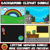 Growing Lifetime Simple Backgrounds Bundle (Boom Card Size