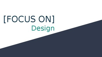 [FOCUS ON] Design