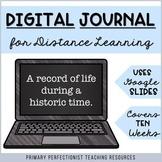 *FREE* 10-Week Digital Journal for Distance Learning - Goo