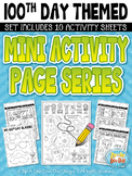 FREE 100th Day Mini Activity Page Series Pack {Zip-A-Dee-Doo-Dah Designs}