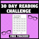 *FREE* 30 Book Reading Challenge
