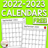 *FREE* 2017-2018 Calendars