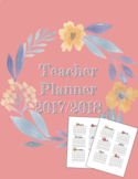 UPDATED -- *FREE* 2018-2019 Teacher Planner PDF in Floral