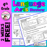 **FREE** 4th Grade Daily Language Review First 2 Weeks