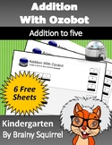 *FREE* Addition with Ozobot - Adding up to Five