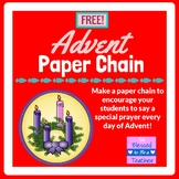 {FREE!} Advent Paper Chain
