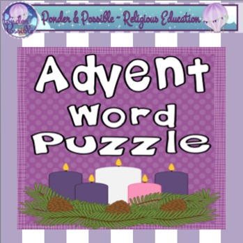 *FREE* Advent Word Puzzle