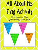 *FREE* All About Me Flag Activity