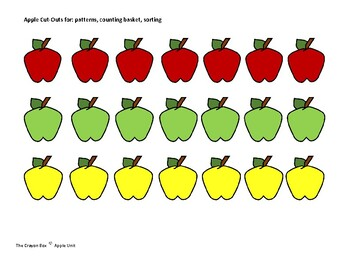 **FREE** Apple Counting Game