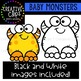 {FREE} Baby Monsters: Halloween Clipart {Creative Clips Clipart}