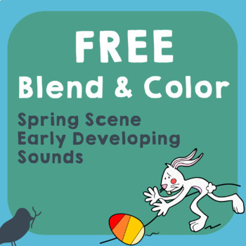 *Free* Blend & Color Phonemic Awareness of Early Developin