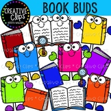 {FREE} Book Buds {Creative Clips Clipart}