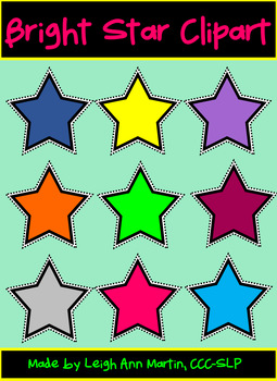 **FREE** Bright Star Clipart