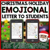 *FREE* CHRISTMAS/HOLIDAY EMOJIONAL LETTER TO STUDENTS