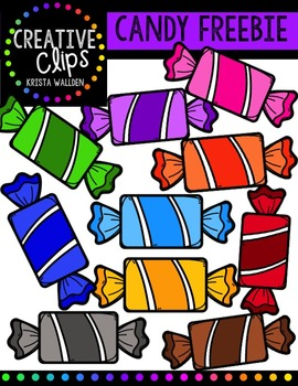 {FREE} Candy {Creative Clips Digital Clipart}