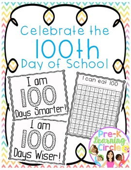 (FREE)  Celebrate the 100th Day of School
