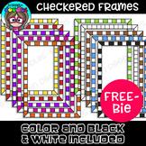 {FREE} Checkered Borders