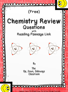 (FREE) Chemistry Review Questions with Reading Passage Link