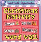 *FREE* Christmas Nativity Word Wall - Jesus