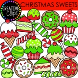 {FREE} Christmas Sweets (Christmas Clipart)