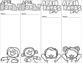 {FREE} April Fool's Day Bookmarks