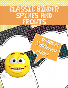 [FREE] Classic Binder Spines and Fronts | Classroom Decoration |
